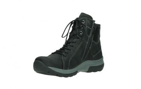wolky bottines a lacets 03026 ambient 11000 nubuck noir_10