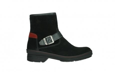 wolky bottines 07641 nitra 45000 suede noir_1