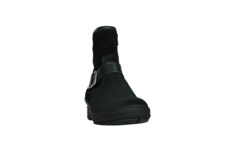 wolky bottines 07641 nitra 45000 suede noir_6