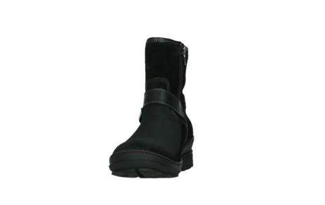 wolky bottines 07641 nitra 45000 suede noir_8