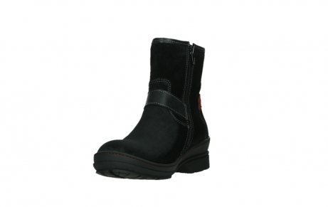 wolky bottines 07641 nitra 45000 suede noir_9