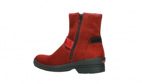 wolky bottines 07641 nitra 45505 suede rouge fonce_15