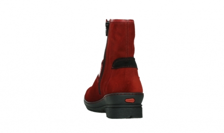 wolky bottines 07641 nitra 45505 suede rouge fonce_18