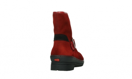 wolky bottines 07641 nitra 45505 suede rouge fonce_20