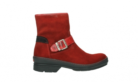 wolky bottines 07641 nitra 45505 suede rouge fonce_24