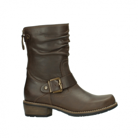 wolky bottes mi hautes 00572 lis 50152 cuir taupe