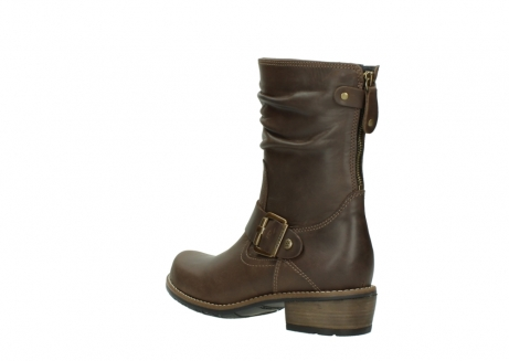 wolky bottes mi hautes 00572 lis 50152 cuir taupe_4