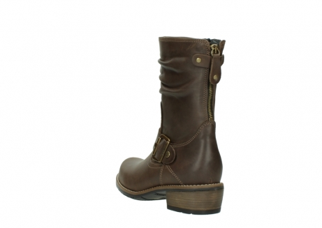 wolky bottes mi hautes 00572 lis 50152 cuir taupe_5