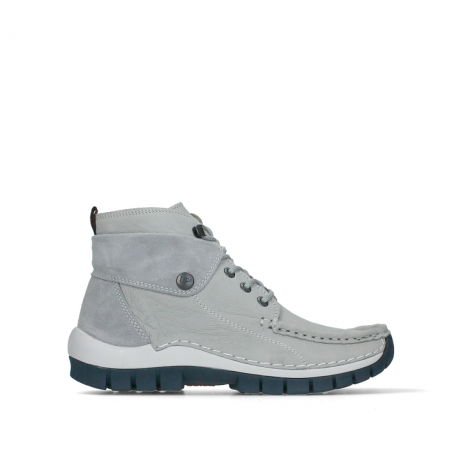 wolky bottines a lacets 04700 jump 11206 nubuck gris clair