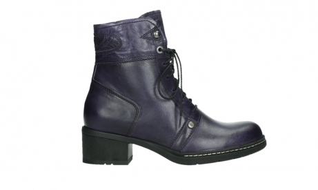 wolky bottines a lacets 01260 red deer 30600 cuir violet_1