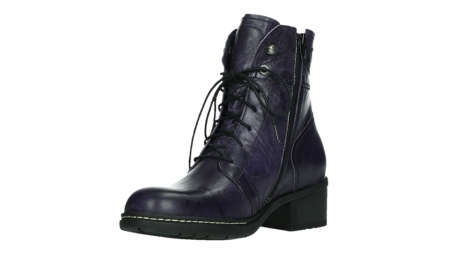 wolky bottines a lacets 01260 red deer 30600 cuir violet_10