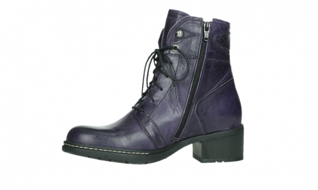wolky bottines a lacets 01260 red deer 30600 cuir violet_12