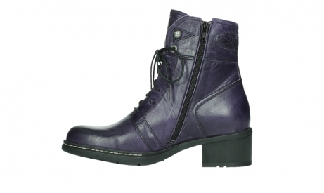 wolky bottines a lacets 01260 red deer 30600 cuir violet_13