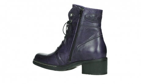 wolky bottines a lacets 01260 red deer 30600 cuir violet_15