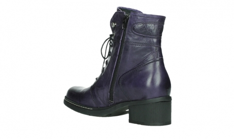 wolky bottines a lacets 01260 red deer 30600 cuir violet_16