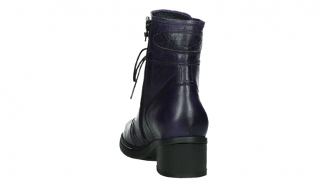 wolky bottines a lacets 01260 red deer 30600 cuir violet_18