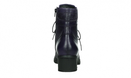 wolky bottines a lacets 01260 red deer 30600 cuir violet_19