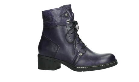 wolky bottines a lacets 01260 red deer 30600 cuir violet_2