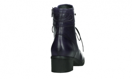 wolky bottines a lacets 01260 red deer 30600 cuir violet_20