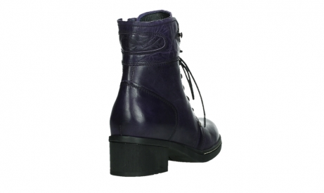 wolky bottines a lacets 01260 red deer 30600 cuir violet_21