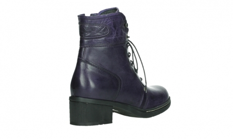 wolky bottines a lacets 01260 red deer 30600 cuir violet_22