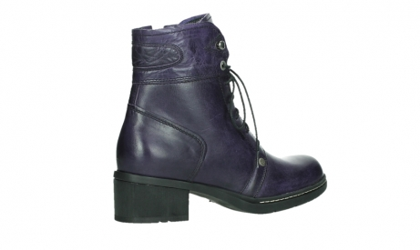wolky bottines a lacets 01260 red deer 30600 cuir violet_23