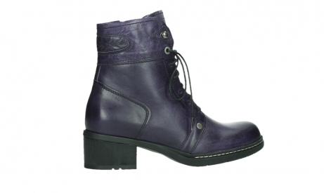 wolky bottines a lacets 01260 red deer 30600 cuir violet_24