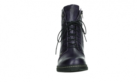 wolky bottines a lacets 01260 red deer 30600 cuir violet_7