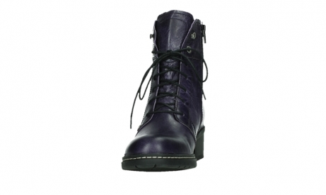 wolky bottines a lacets 01260 red deer 30600 cuir violet_8