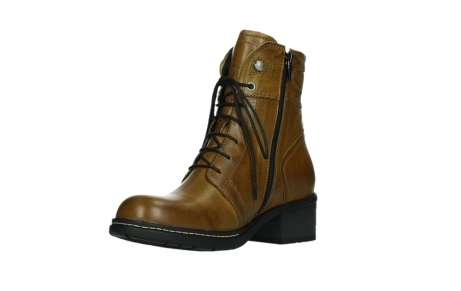 wolky bottines 01260 red deer 30925 cuir ocre fonce_10