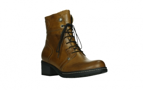 wolky bottines 01260 red deer 30925 cuir ocre fonce_4