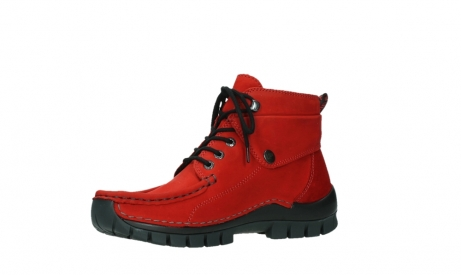 wolky bottines a lacets 04725 jump winter 16505 nubuck rouge fonce_11