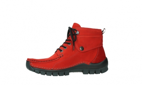 wolky bottines a lacets 04725 jump winter 16505 nubuck rouge fonce_12