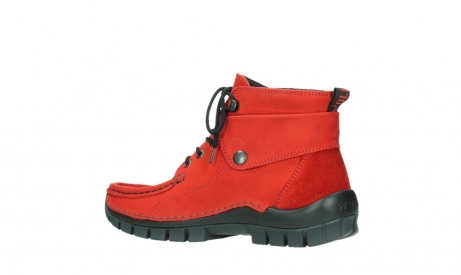wolky bottines a lacets 04725 jump winter 16505 nubuck rouge fonce_15