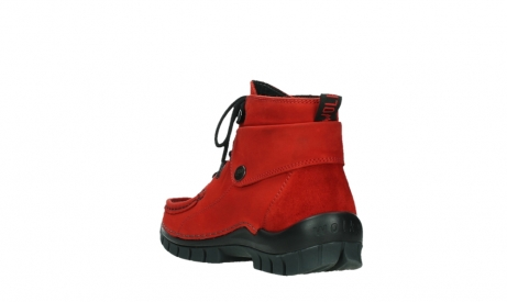 wolky bottines a lacets 04725 jump winter 16505 nubuck rouge fonce_17