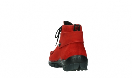 wolky bottines a lacets 04725 jump winter 16505 nubuck rouge fonce_18