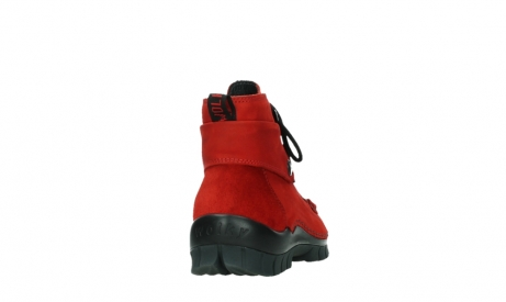 wolky bottines a lacets 04725 jump winter 16505 nubuck rouge fonce_20