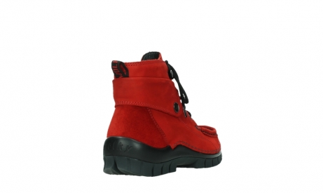 wolky bottines a lacets 04725 jump winter 16505 nubuck rouge fonce_21