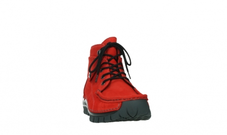 wolky bottines a lacets 04725 jump winter 16505 nubuck rouge fonce_6