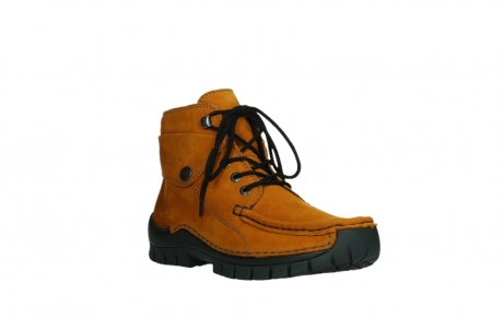 wolky bottines a lacets 04725 jump winter 16920 nubuck ocre_4