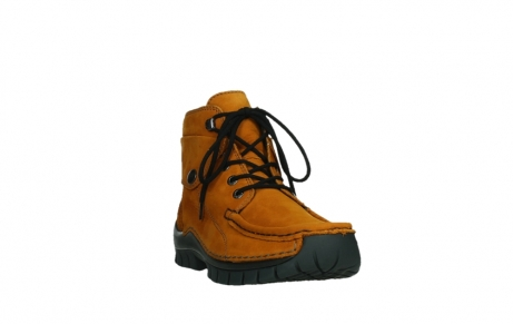 wolky bottines a lacets 04725 jump winter 16920 nubuck ocre_5