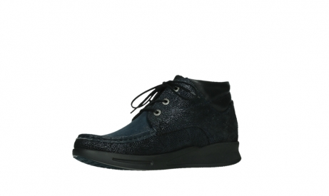 wolky bottines a lacets 05903 three 43800 suede extensible bleu_11
