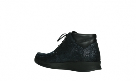 wolky bottines a lacets 05903 three 43800 suede extensible bleu_15