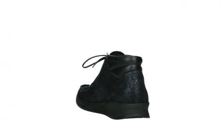 wolky bottines a lacets 05903 three 43800 suede extensible bleu_17