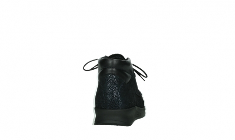 wolky bottines a lacets 05903 three 43800 suede extensible bleu_19