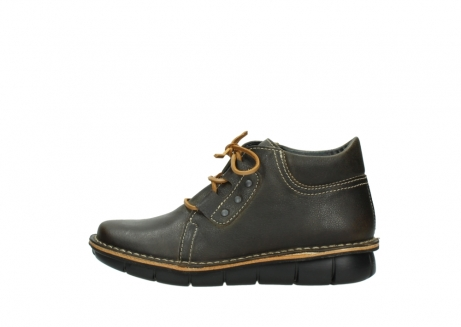 wolky bottines a lacets 08395 tara 50733 cuir vert_1