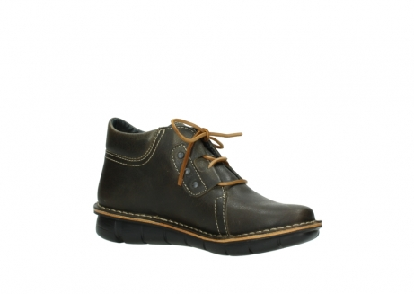 wolky bottines a lacets 08395 tara 50733 cuir vert_15