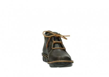 wolky bottines a lacets 08395 tara 50733 cuir vert_18