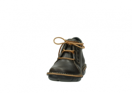 wolky bottines a lacets 08395 tara 50733 cuir vert_20