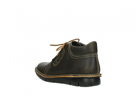 wolky bottines a lacets 08395 tara 50733 cuir vert_4